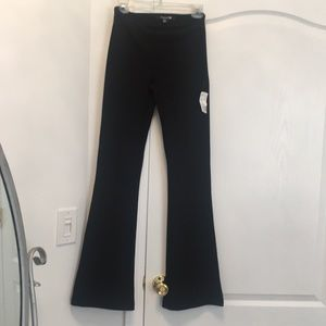 NWT Forever 21 Side Zip Ribbed Flare Bottom Pant